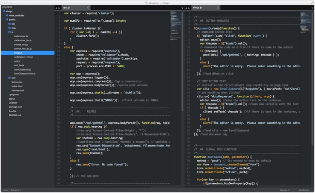 How to Make Adjacent File Group Panes with Sublime Text 3 to